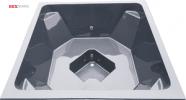 TK1900 tumman harmaa lasikuitupalju